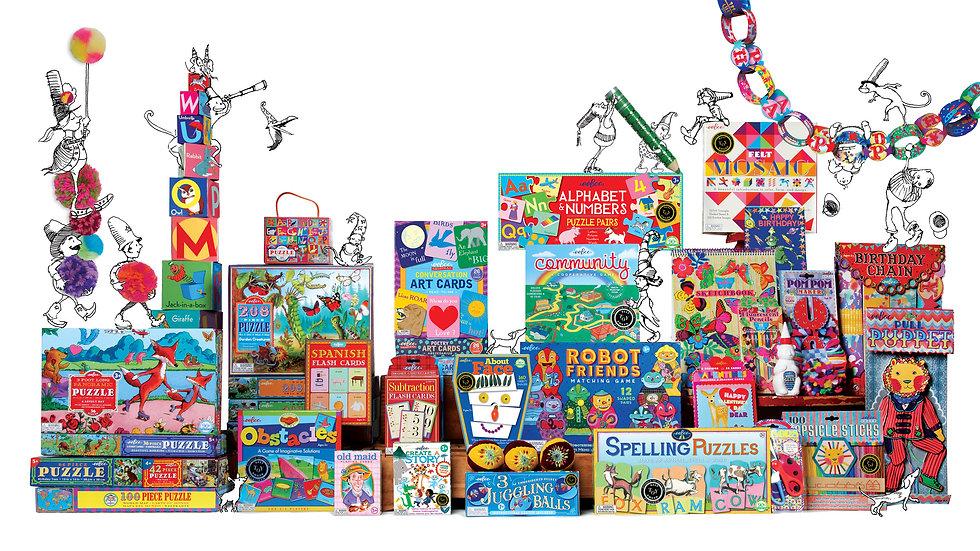 Eeboo - Games, Puzzles & More