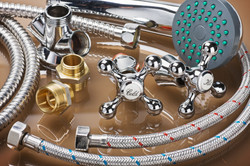 bathroom fixtures and fittings are of di