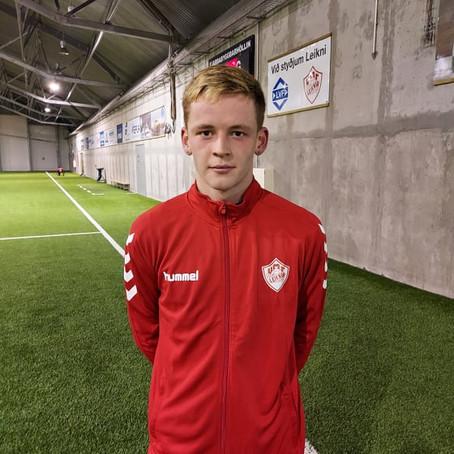 Heiðar Snær í Leikni!