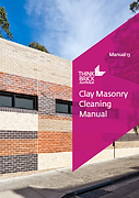 Think Brick Clay Masonry Cleaning Manual