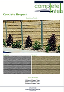 Complete Lintels Building Supplies | Concrete Sleepers Sandstone Finish