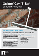 Galintels | Cavi-T Bar Flyer | Complete Lintels Building Supplies | Annangrove