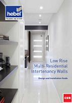 Hebel Low Rise Multi Residential Interte