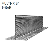Galintels | Multi-Rib T-Bar | Complete Lintels Building Supplies | Annangrove