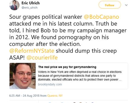 Republican Councilman Fires Back at  Bob Capano & His Pornography