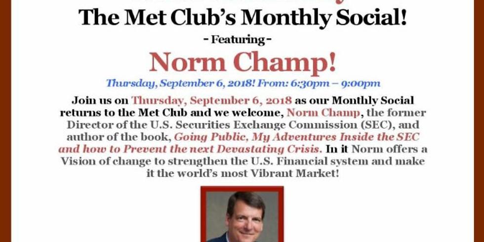 The Met Club Monthly Social