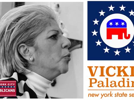 NYC Republicans Endorses Vickie Paladino for NYS Senate (D11)