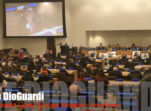 Fr. Congressman Joe DioGuardi - Holocaust Remembrance Speech at United Nations