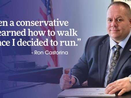 NYC Republicans urges Staten Island Conservatives to VOTE Ron Castorina Jr in today's Primary.