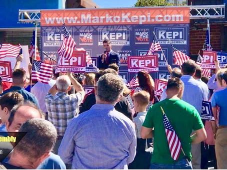 Republican MARKO KEPI Announces run for New York State Assembly!