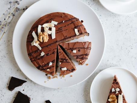 Vegetarian Κέικ Σοκολάτας