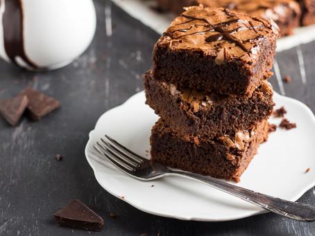 Brownies με Φασόλια, Ταχίνι και Κακάο