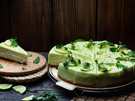 Cheesecake με Αβοκάντο, Ανθότυρο και Γκρέιπφρουτ