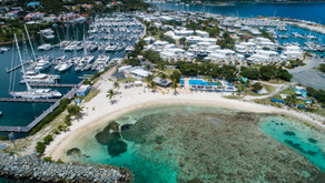 A week free dockage at Nanny Cay? Yes, if you are participating in both...