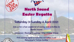 Easter Weekend Regatta ~ lots of family fun in North Sound! Join the RBVIYC April 3rd & 4th