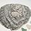 Thumbnail: White Sea Glass Silver Heart Necklace