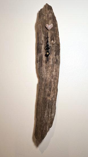 Natural Driftwood Clock