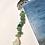 Thumbnail: Dolphin Bookmark with Aqua Sea Glass