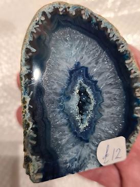 Polished Blue Geode