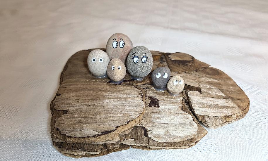 Pebble Family of 6