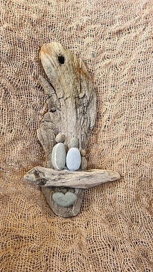 Family of 3 Driftwood Wallhanging
