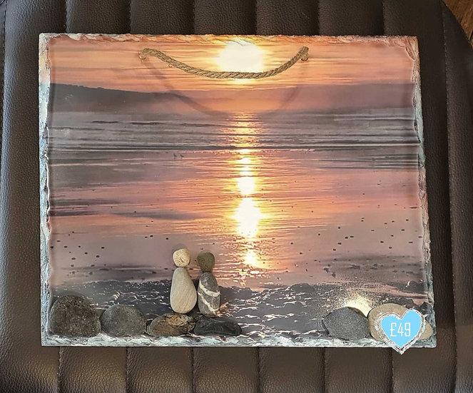 Sunrise Heaven Photo Slate