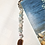 Thumbnail: Celtic Bookmark with Aquamarine Gemstones