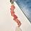 Thumbnail: Dolphin Bookmark with White Sea Glass