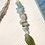 Thumbnail: Feather Bookmark with Green Sea Glass