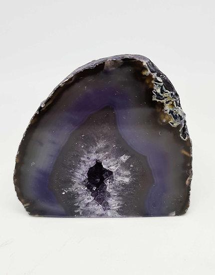 Purply Blue Geode