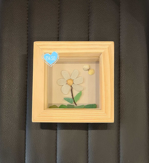Single Sea Glass Flower Picture