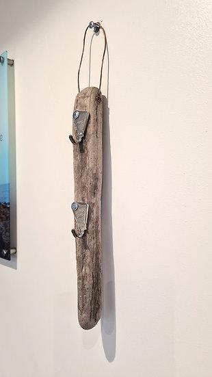 """2"" Key Driftwood Keyholder"