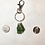 Thumbnail: Small Green Bottle Top Keyring