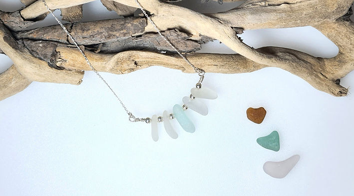 Handcrafted Sea Glass Necklaces