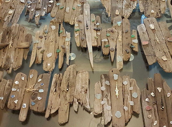 Driftwood Clocks