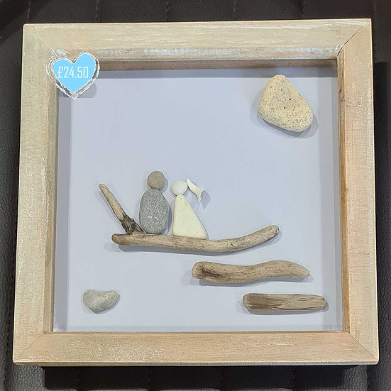 Bride and Groom - Pebble/China Picture