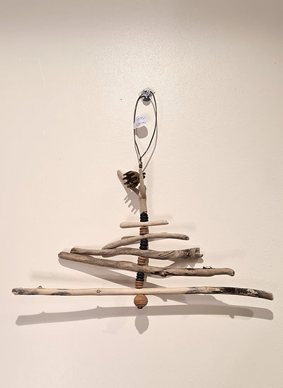 Driftwood Hanging Tree with Bell