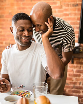 Black queer couple therapy