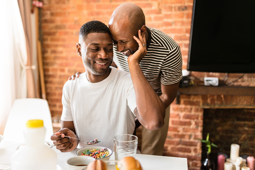 Image of gay male couple - Oakland Therapist EMDR Therapy