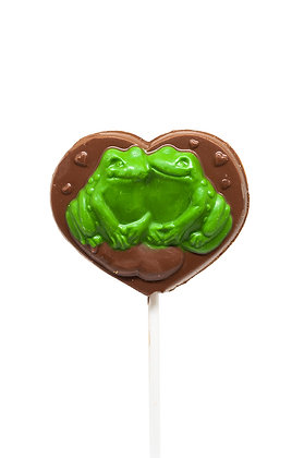 Chocolate Frog Couple Lolly, 45g