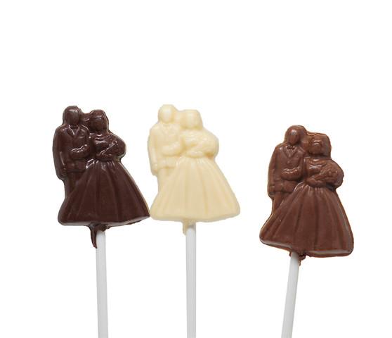 Newly Wed Chocolate Lollipop