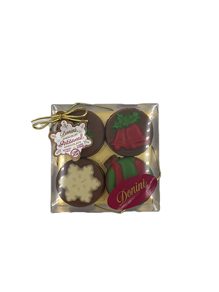 Chocolate Dipped Oreo Cookies - Holiday Variety