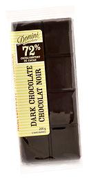 72% Dark Chocolate, 200 g