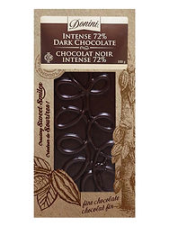 Donini 72% Intense Dark Chocolate