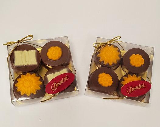 Chocolate Dipped Oreo Cookies - 4pc