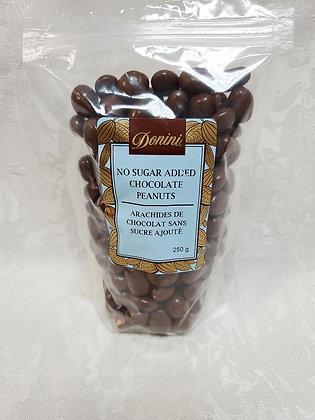 No Sugar Added Milk Chocolate Peanuts