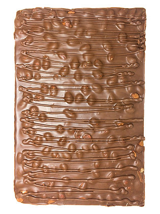 Milk Chocolate Almond Bark Slab, 6 x 480g
