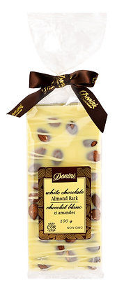 White Chocolate Almond Bark, 100g