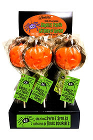 Donini Milk Chocolate Pumpkin Lollipop.j