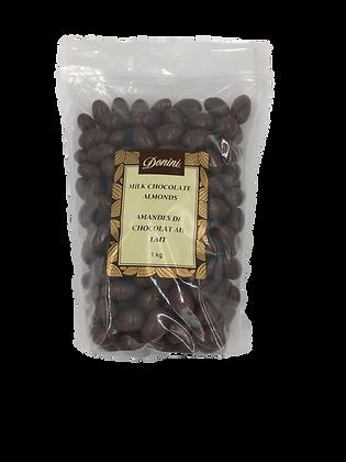 Milk Chocolate Almonds - 1KG